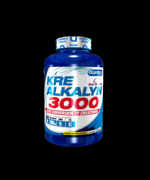 (Quamtrax) Creatina Kre-Alkalyn 3000 (120Caps o 240Caps)