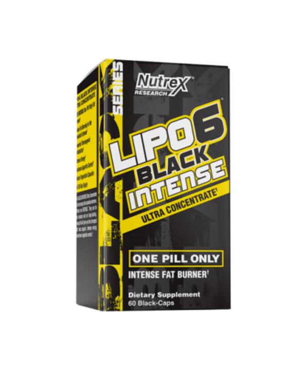 (Nutrex) Quemador de Grasa - Lipo 6 Black Intense Ultra Concentrado (60Caps) puntfitness