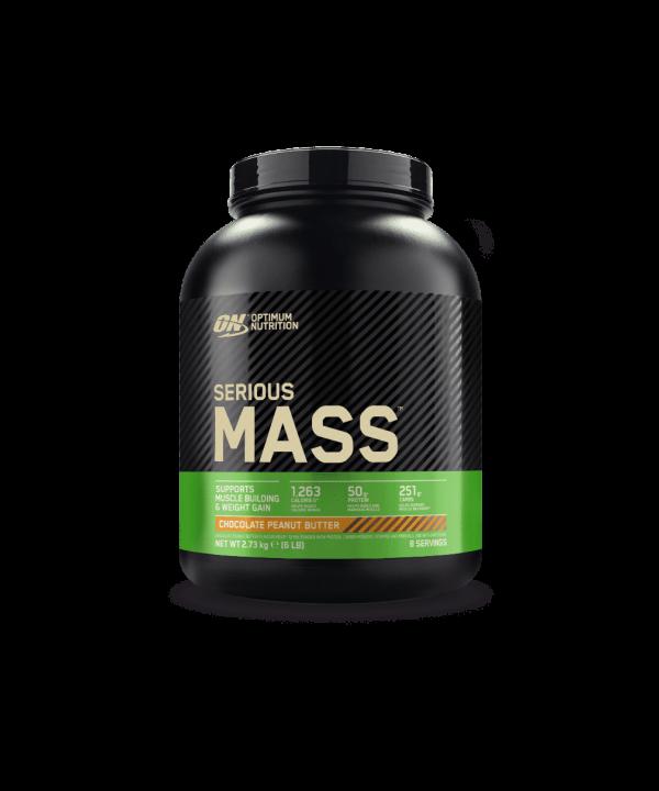 (Optimum Nutrition) Carbohidratos - Gainer Serious Mass (de 2,72kg o 5,45kg)