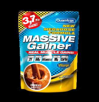QUAMTRAX Massive Gainer Chocolate 3,7kg puntfitness