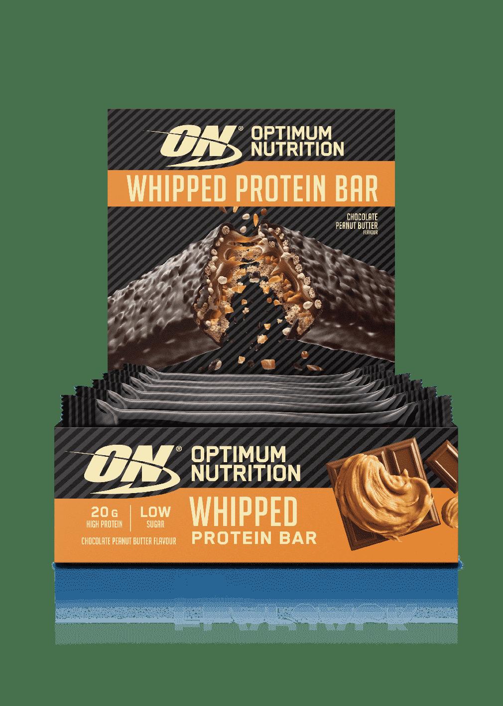 (Optimum Nutrition) Whipper Protein Bar (12x60g) chocolate crema cacauetepuntfitness