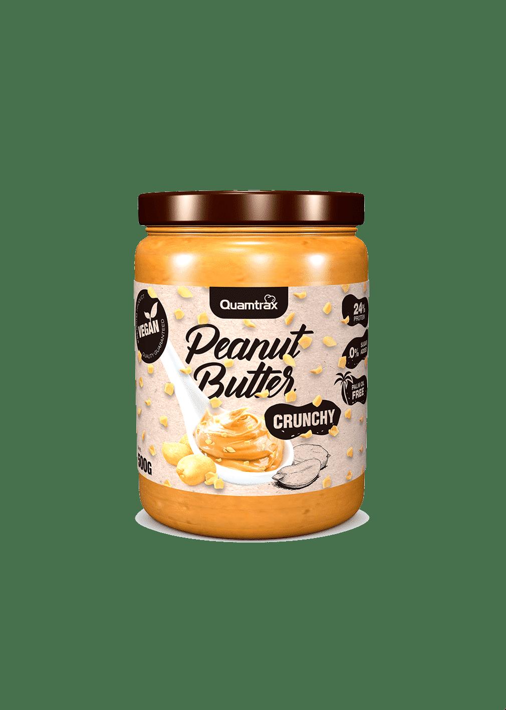 (Quamtrax) Crema de Cacahuete Cruchy (500g o 1Kg)