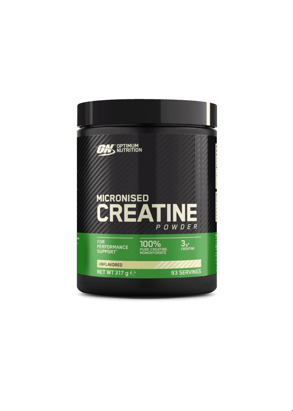 (Optimum Nutrition) Creatina Monohidrato Micronizada (317g o 634g)