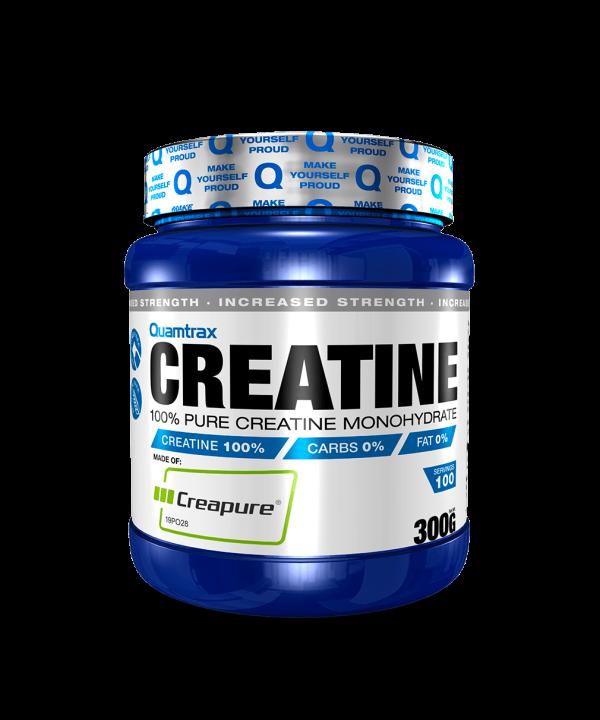 (Quamtrax) Creatina Creapure (300g o 600g)