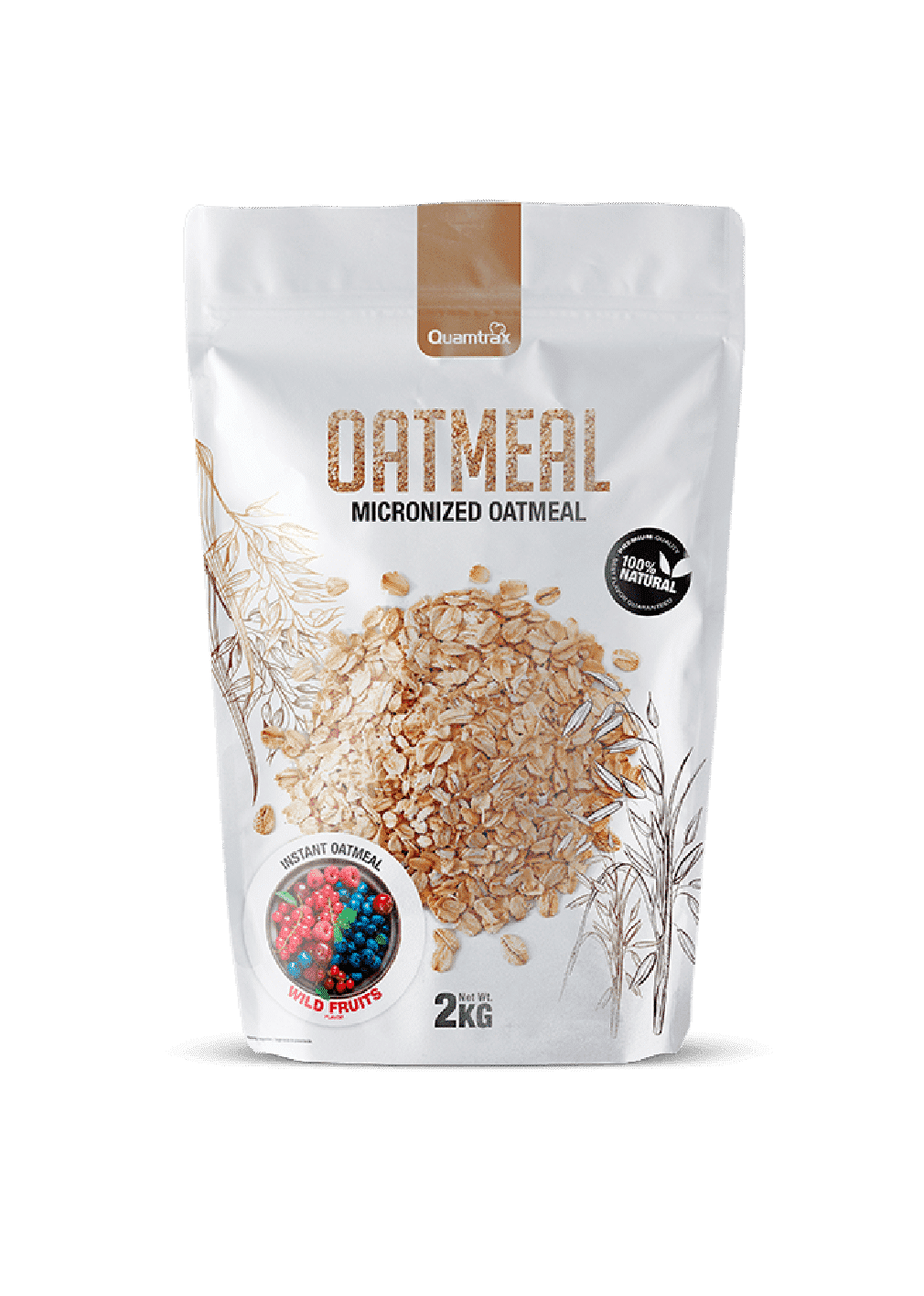 (Quamtrax) Oats Meal - Harina de Avena ( de 1,2kg o 2kg )
